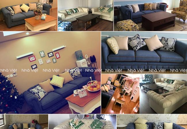 Sofa cổ điển mã 43