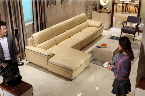 Sofa da mã 034