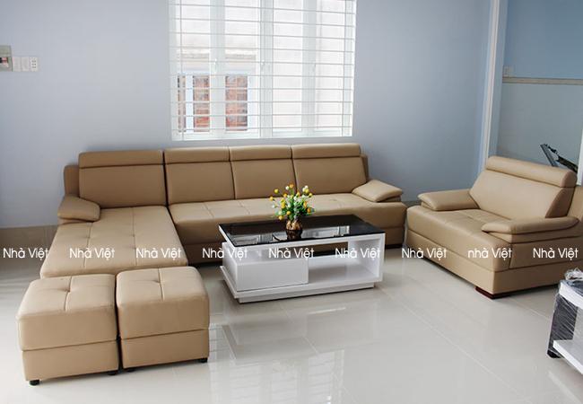 Giao ghế sofa da bác Nam - T.P Lạng Sơn