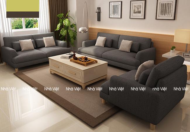 Sofa nỉ mã 088