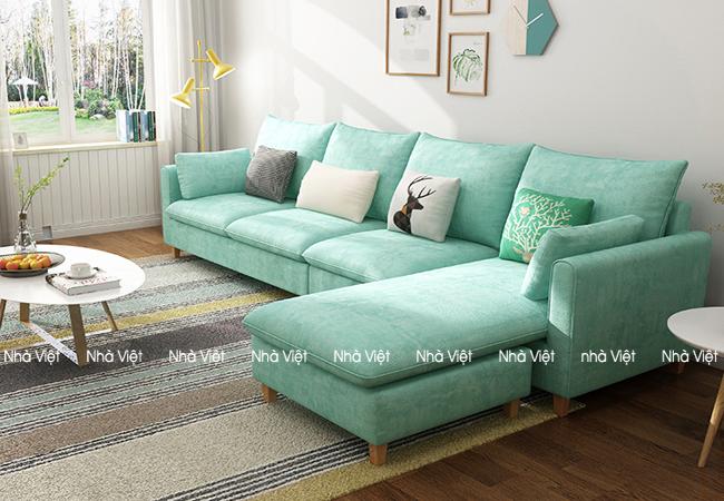 Sofa nỉ mã 089