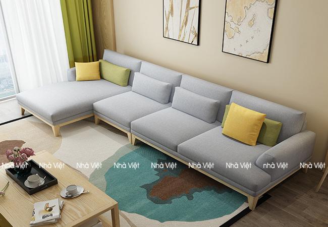 Sofa nỉ mã 0108