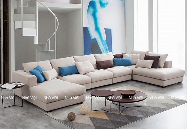 Sofa nỉ mã 0110