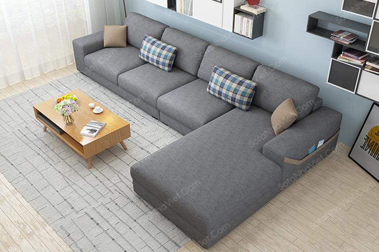 Sofa nỉ mã 066