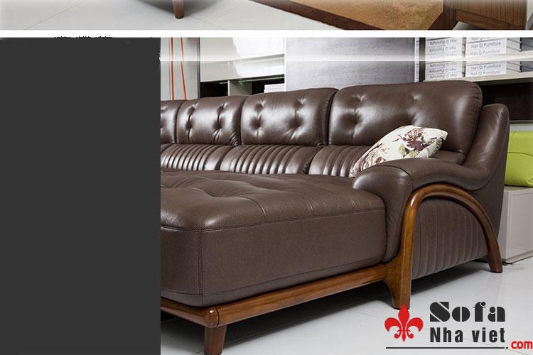 Sofa da cao cấp mẫu thiết kế mới độc quyền