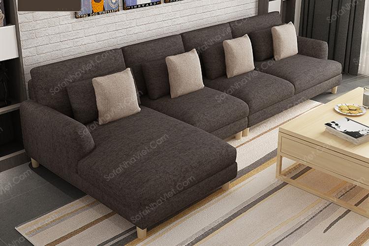 Sofa vải tại Nhà Việt vừa sang trọng vừa tiện dụng
