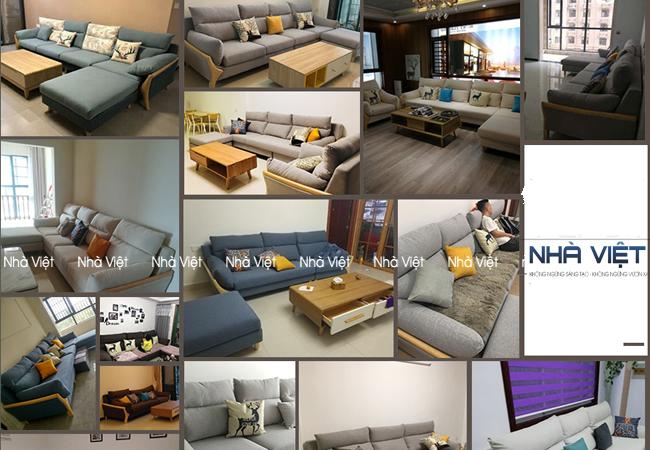 Sofa vải mã 326