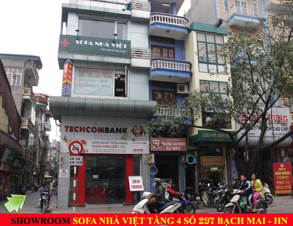 Sơ đồ chỉ đường đến showroom  Nhà  Việt
