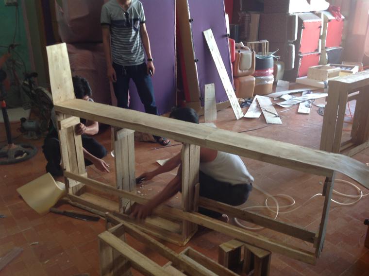 Cấu tạo của khung sofa cao cấp Nhà Việt phần 1