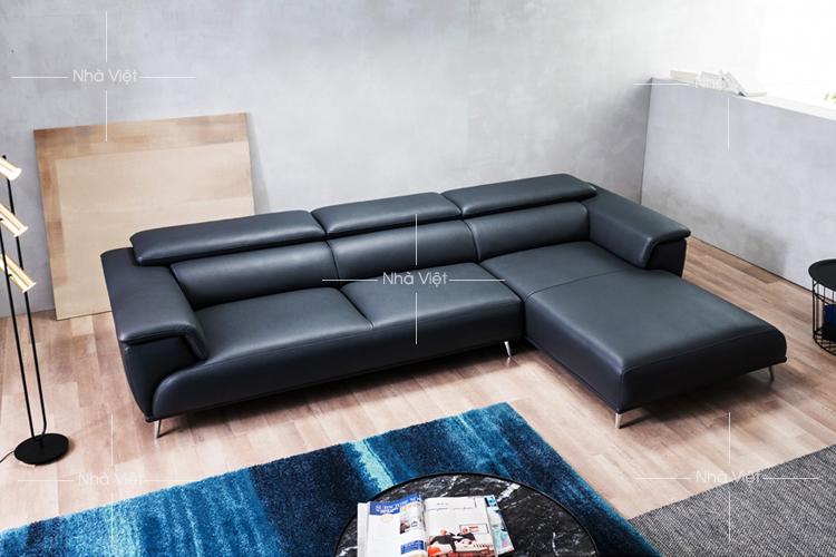 Sofa cao cấp dạng góc mã 123