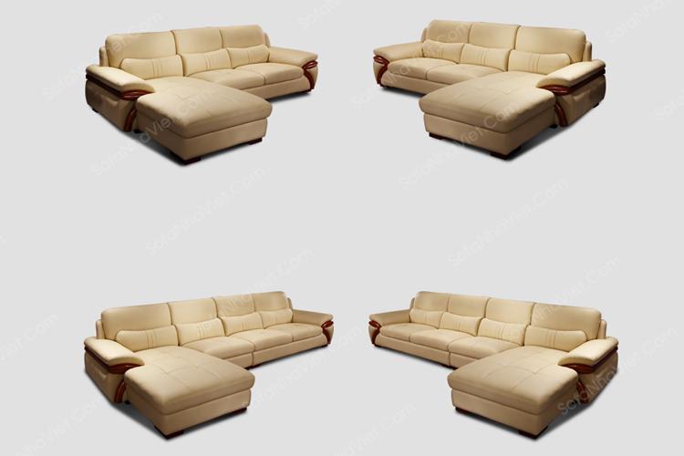 Sofa da mã 46