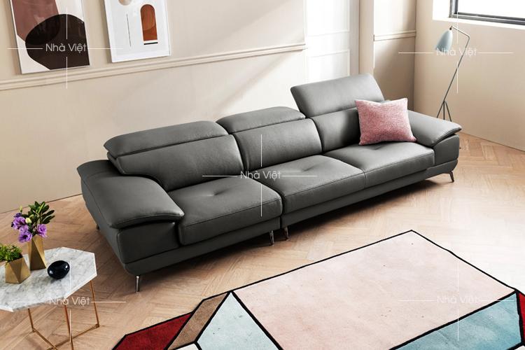 Sofa da chung cư 3 chỗ mã 192