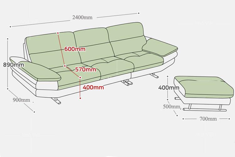 Sofa da DH 078