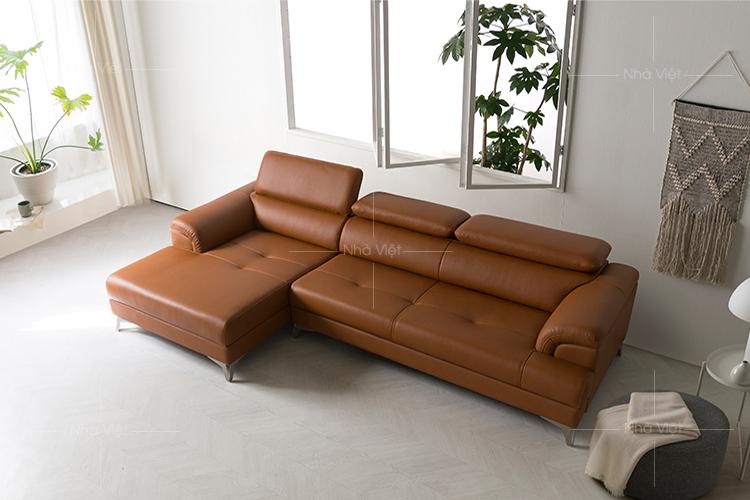 Sofa da góc chữ L DH-28