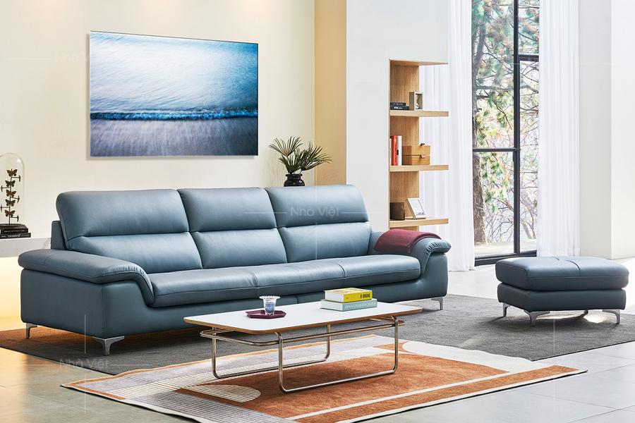 Sofa da công nghiệp Dh176