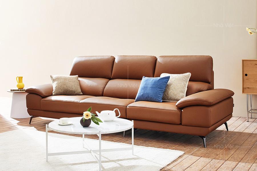 Sofa da công nghiệp DH042