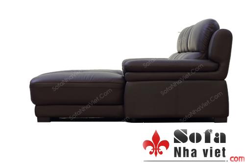 Sản phẩm cần bán: Lý do nhiều khác hàng thích sử dụng sofa da phòng khách màu đen Q3