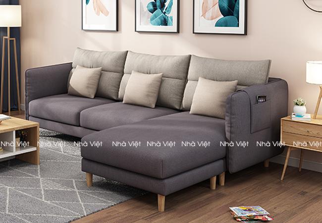 Sofa nỉ mã 1115