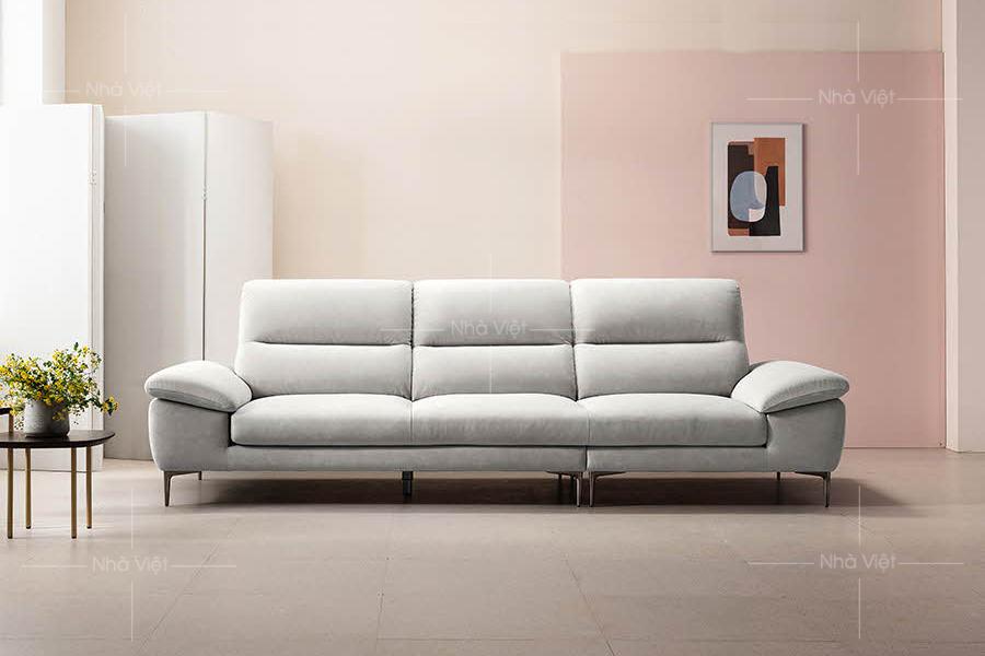 Sofa nỉ kích thước 2.5m mã ND43