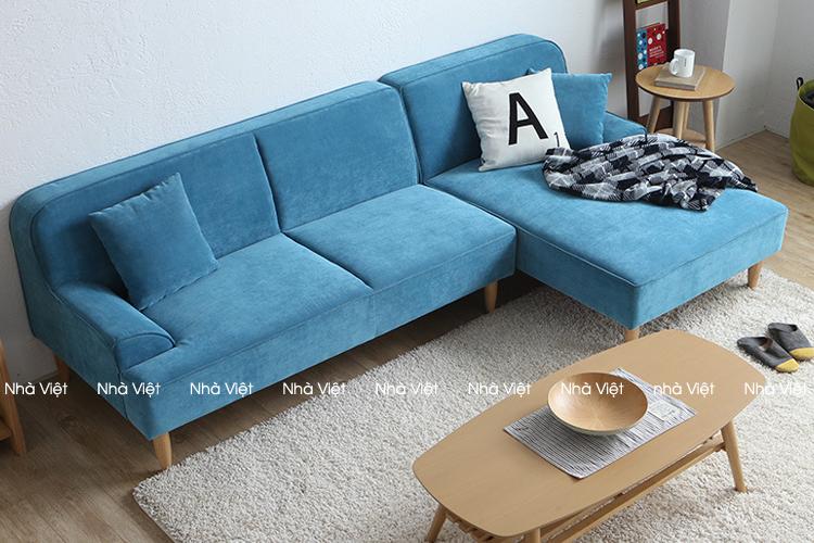 Sofa nỉ mã 077