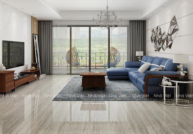 Sofa phòng khách tay gỗ mã 144