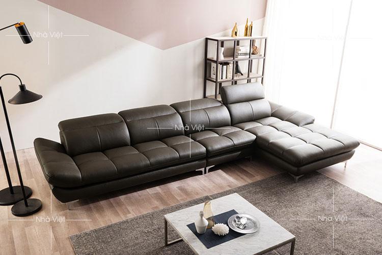 Sofa phòng khách mẫu góc chữ L mã 154