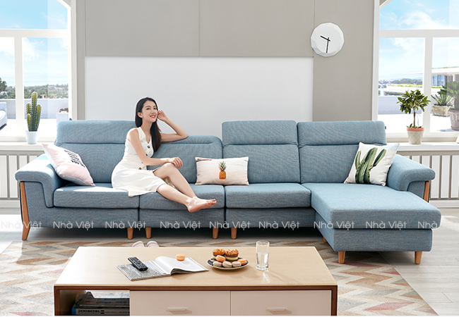 Sofa vải phụ kiện tựa đầu mã 337