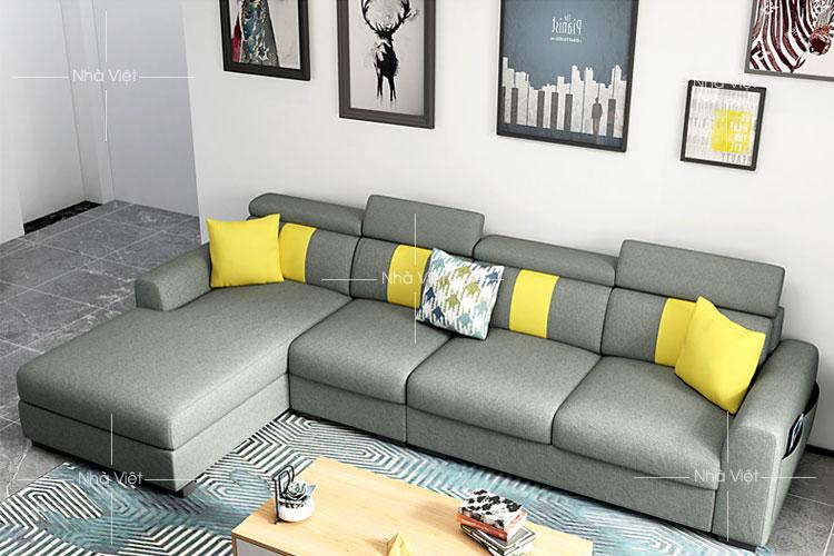 Sofa vải tiện ích mã 344