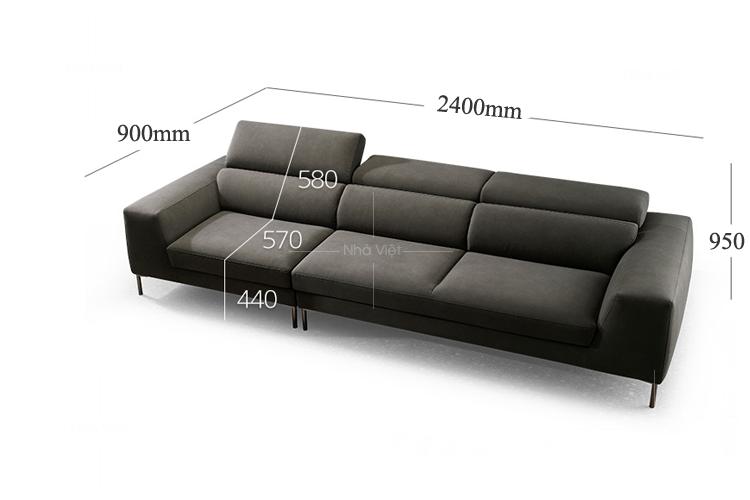 Sofa vải mã 305