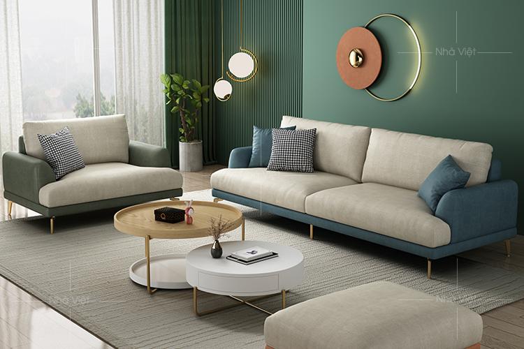 Sofa vải bán cổ điển VG-14