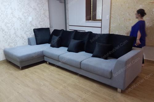 Sofa vải mã 083