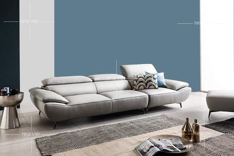 Sofa văng bọc da mã 349