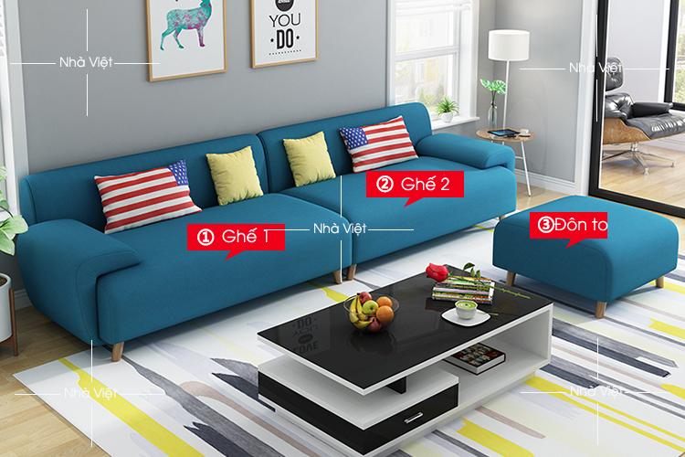 Sofa văng thiết kế mới mã 350