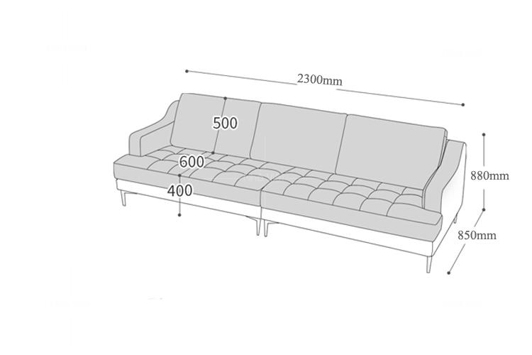 Sofa văng mã 300