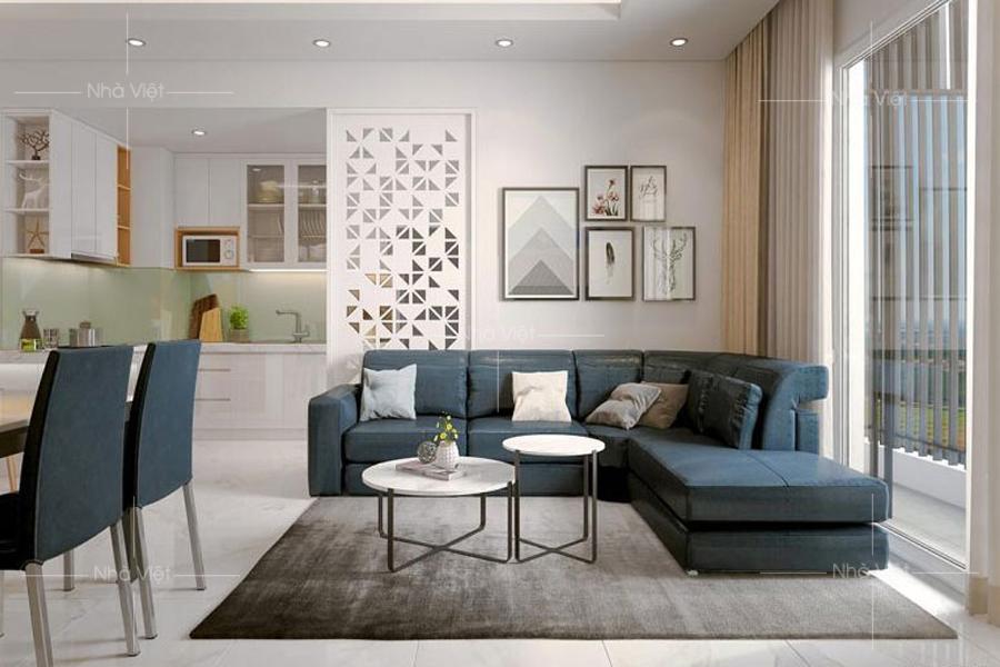 Cách bố trí bàn ghế sofa góc phù hợp với phòng khách hiện đại