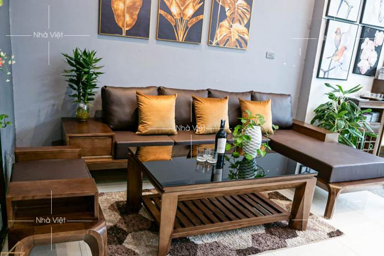 Các mẫu sofa gỗ phổ biến hiện nay trên thị trường