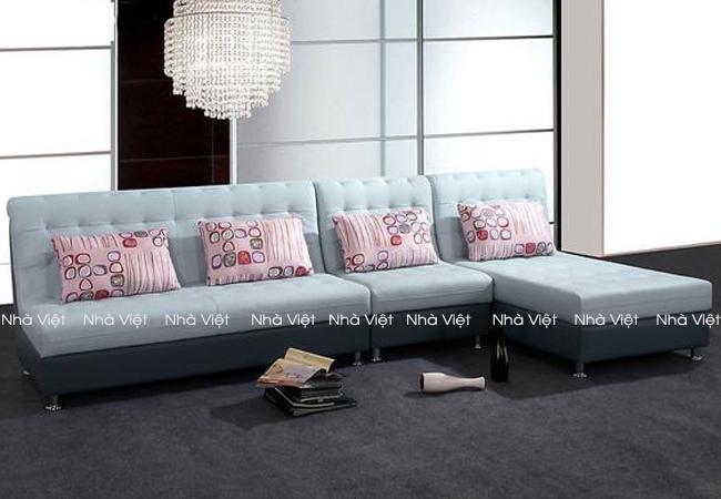 Ghế sofa góc có thể soay đổi góc ngược lại không