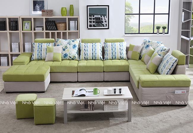 Cách kê bô ghế sofa góc phòng khách như thế nào hợp lý