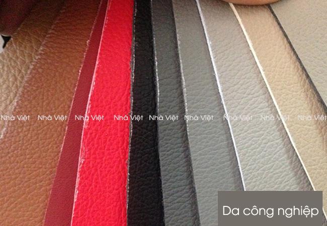Nhà Việt sử dụng các loại da nào cho ghế sofa da tự đóng