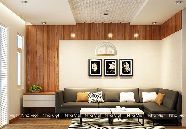 Chọn sofa góc nhỏ căn hộ 70m gồm 2 phòng ngủ