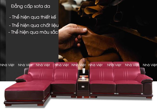 3 ưu điểm vượt trội của sofa da nhập khẩu tại Nhà Việt