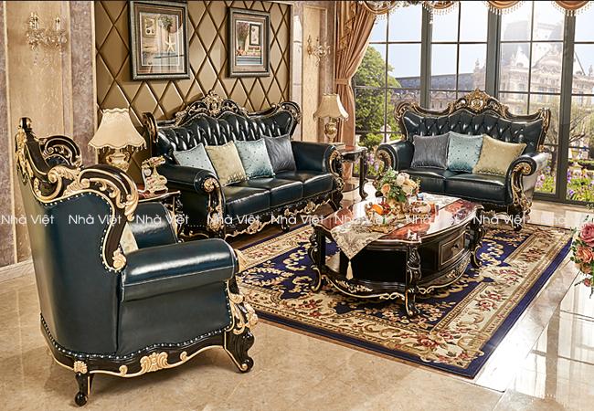 Sofa cổ điển với điểm nổi bật mà bạn không thể bỏ qua