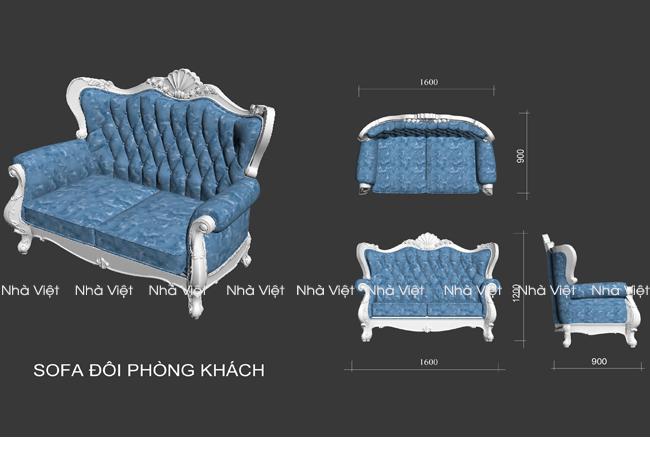 Sai lầm cần biết khi chọn bộ sofa cổ điển phòng khách