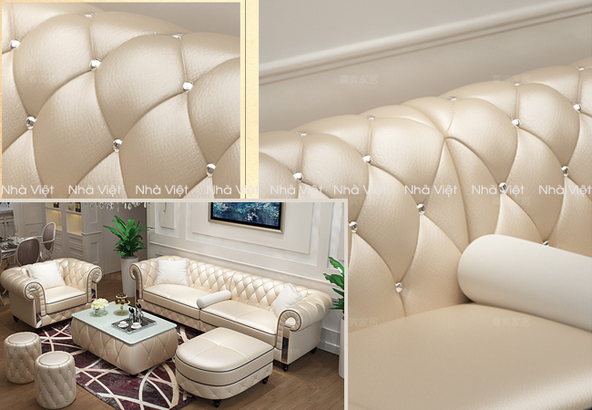 Giá trị mà sofa cổ điển châu âu mang lại cho phòng khách