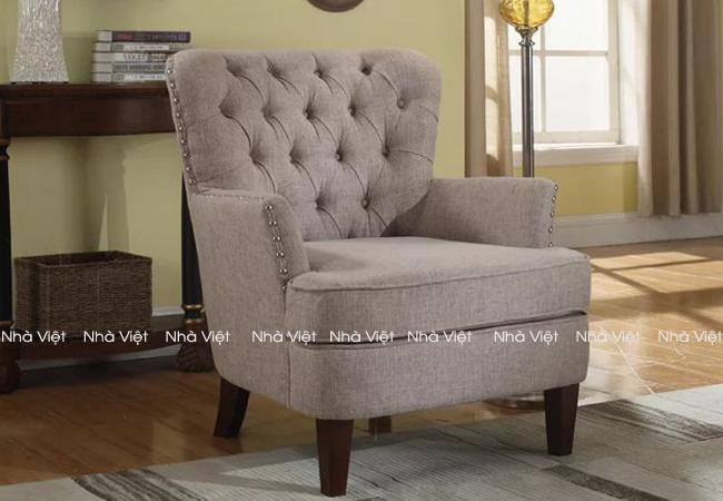 Ghế sofa đơn giành cho phòng khách nhỏ hẹp