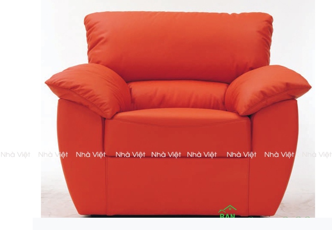 Kích thước bàn ghế sofa đơn theo từng kiểu dáng riêng
