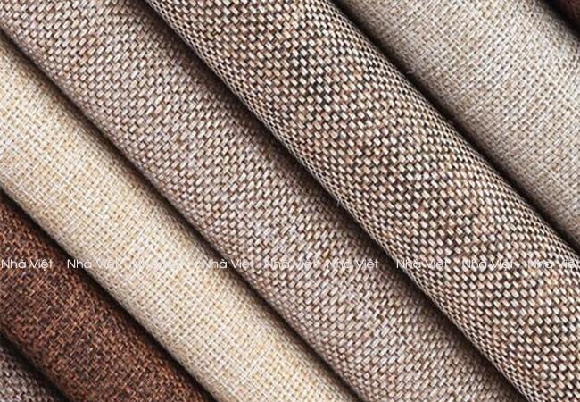 Sofa vải thô và các điều cần lưu ý khi sử dụng vải thô