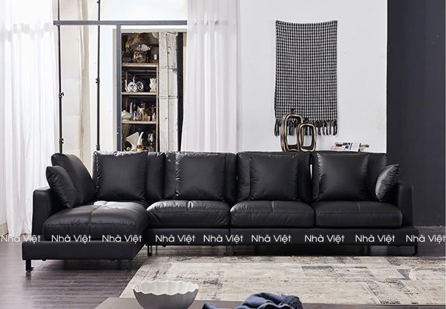 Các loai sofa phòng khách cao cấp nhập khẩu hiện nay